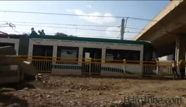 Addis Ababa Light Train Metro - Trial Video Test