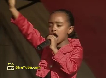 ETV Special - Watch the little Girl Presenting Ethiopia