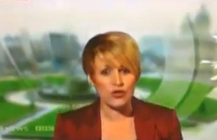 Camera error on BBC News