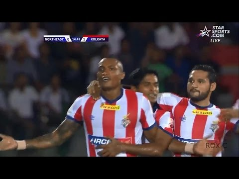 FIKRU TEFERA Amazng goal - NorthEast United FC vs Atletico de kolkata| highlights