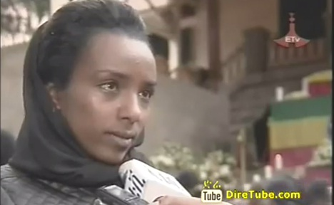 Ethiopian News - Kenenisa, Haile, Tirunesh and others at the National Palace to pay tribute