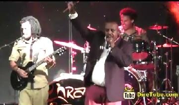 Girma Teffera Kassa Performing Live at Weleta Concert
