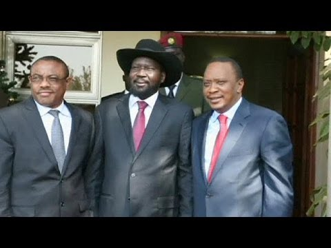 Kenya and Ethiopia leaders in South Sudan in peace effort