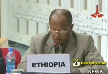 Ethiopia supports recommendation solution b/n Israel and Palestine