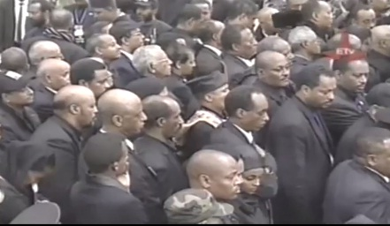 Prime Minister Meles Zenawi laid to rest at Holy Trinity Cathedral - Part 2