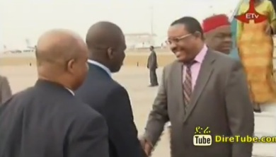 PM Hailemariam in Abudja, Nigeria to Attend The Country's Centenary Celebration