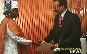 Foreign Affairs Minister Receives Credentials of Ambassadors of Guinea, Algeria
