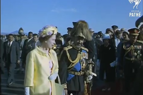Queen Elizabeth II and Emperor Haile Selassie Tour Of Ethiopia (1965)