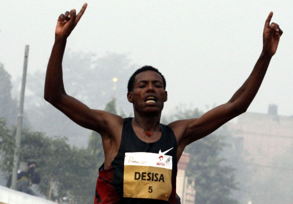 Ethiopian Sport - Lelisa Desisa wins 10,000M in Brussels