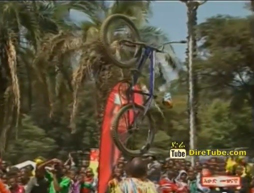 Amazing Circus Show by Ethiopian Man