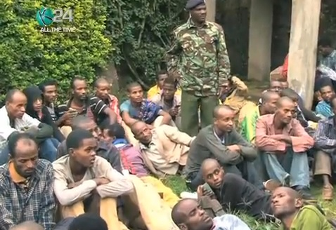 50 Ethiopian Aliens arrested in Kenya