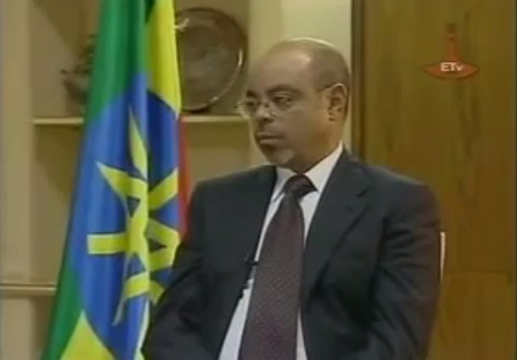 Prime Minister Meles Zenawi Responded to Public Question about the Dam - 2