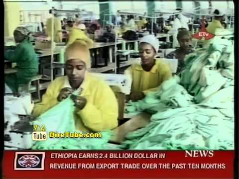 Ethiopia Earns 2.4 Billion USD in Revenue from Export Trade over the Past Ten Months