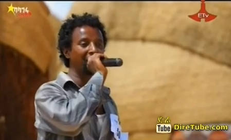 Tsegaye Girma Vocal Contestant from Jijiga