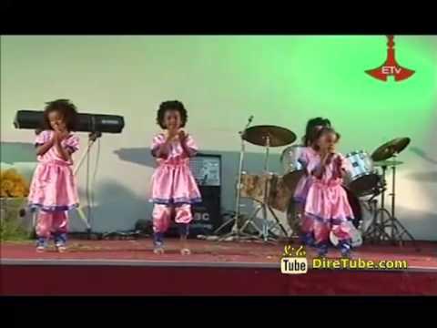 Cute Ethiopian Kids Dancing