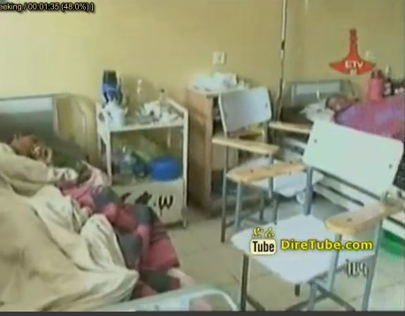 Inhabitants in BahirDar Claimed Emprovment in a Hospital