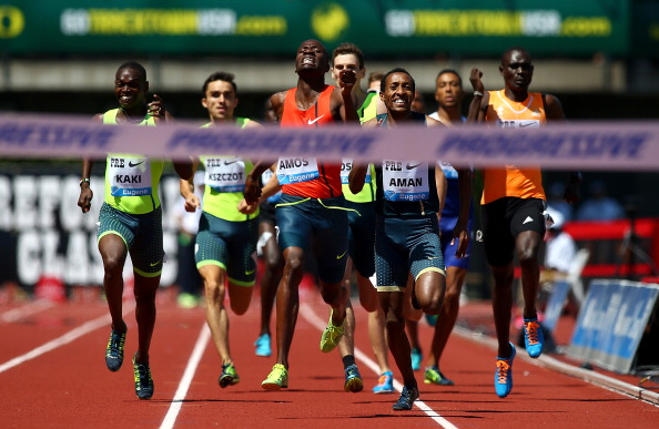 Mohammed Aman Finished 2nd in Eugene IAAF Diamond League