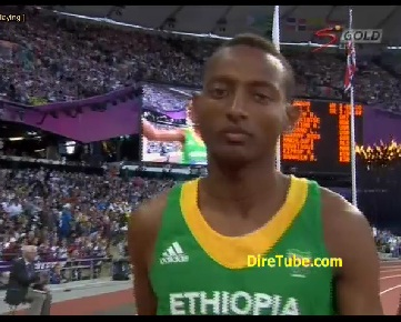 Mekonnen G/Medin Qualified for Men's athletics 1500m Final