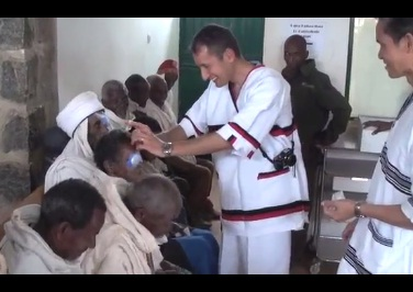 Cataract Surgeries in Gimbi Ethiopia