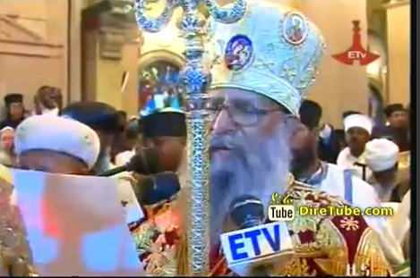 Newly Elected Patriarch has been Enthroned