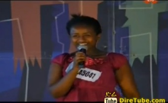 Tseon Samuael Vocal Contestant from Jijiga