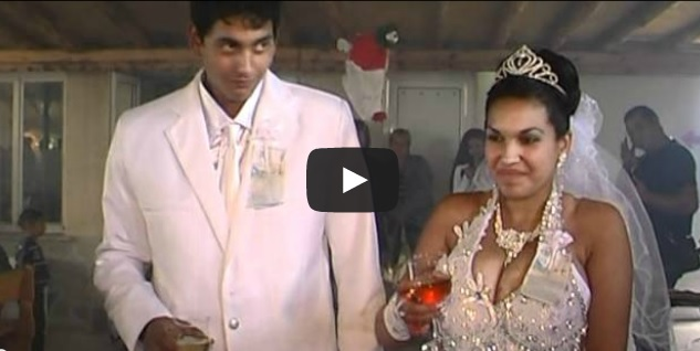 Hilarious Gipsy Wedding with Fireworks