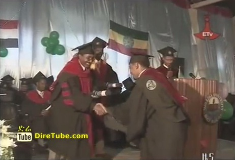 Many Ethiopian University's Graduation