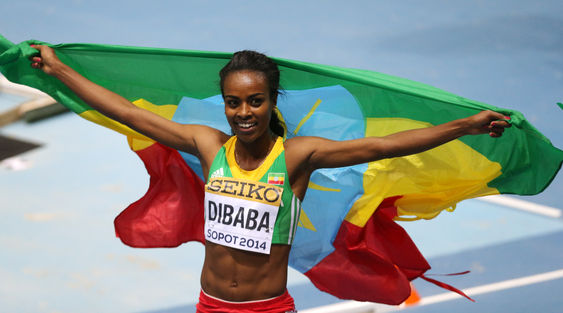3000m Women Final - Genzebe Dibaba Wins in Style