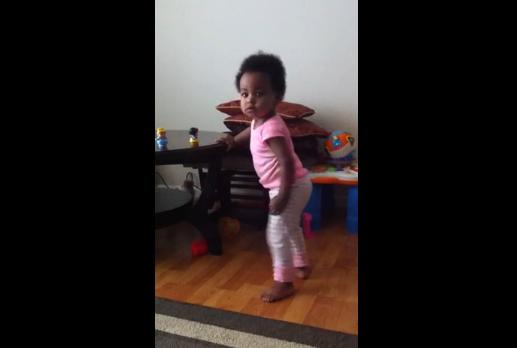 Dancing to Ethiopian music