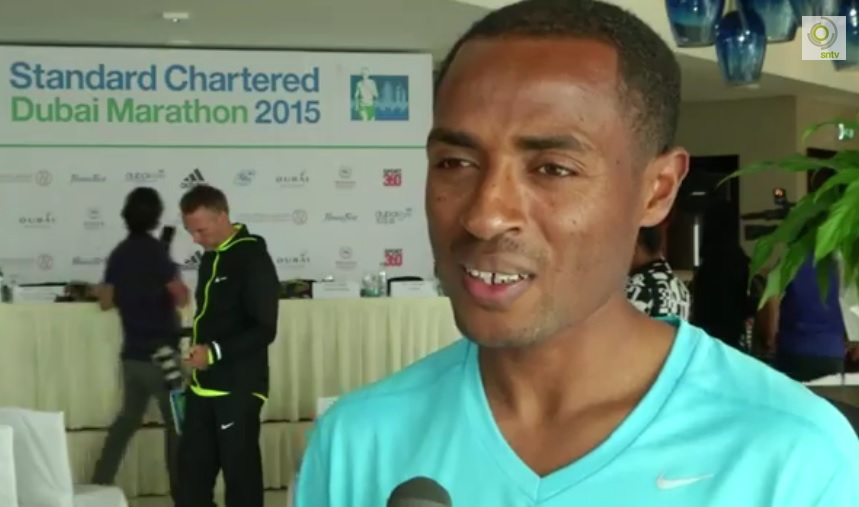 Kenenisa Bekele confident ahead of the Dubai Marathon