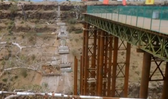 Sebeta Dewelle Railway project Progressing