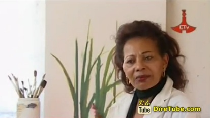 Painter Desta Hagos Tells About Her Amazing Career