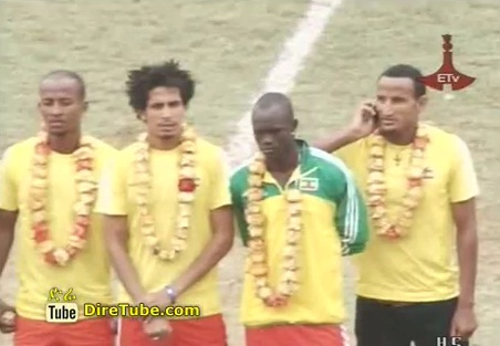 Ethiopian National Football Team back to Addis Ababa