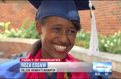 Ethiopian family members in USA graduated with six degrees in one week