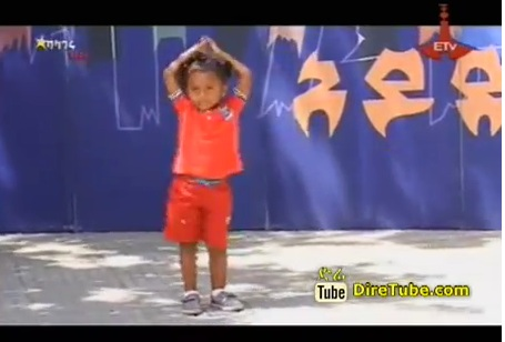 Loza Serkalem a Cute Baby Dancing by Sawa Sawa Episode 42