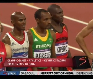 Tariku Bekele Clinches 2nd Medal for Ethiopia, Kenenisa Finished 4th