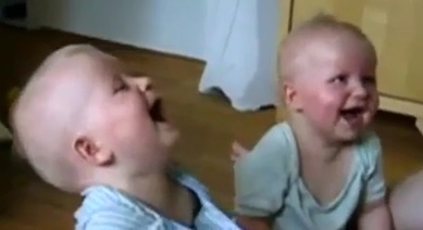 Compilation of Laughing Babies [Funny Video]