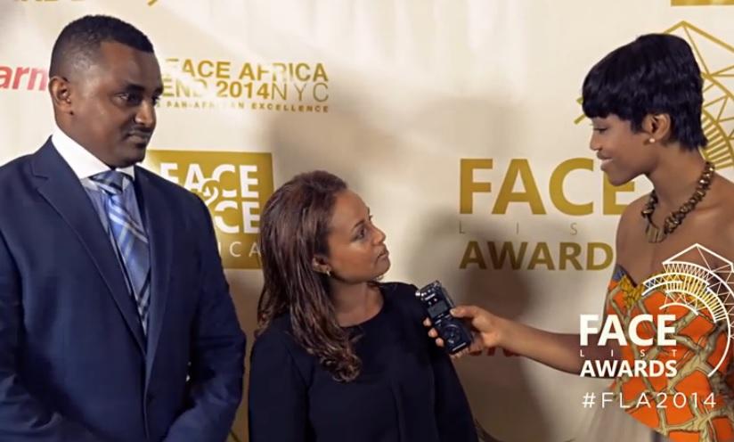 Bethlehem Tilahun Alemu - The Face2face Africa Awards Gold Carpet Presentation