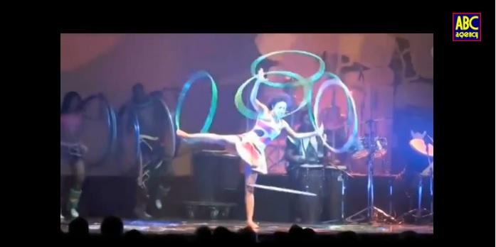 Ethiopian Talent - Amazing Hula Hoop Act