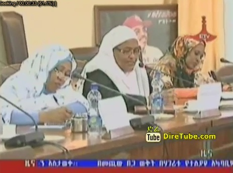 Ethiopian and Sudan women Caucus Member meeting in Addis
