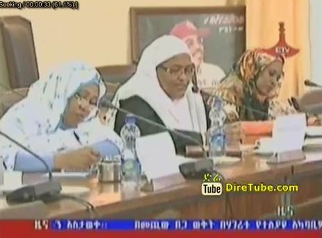 Ethiopian and Sudan women Caucus Member meeting in Addis