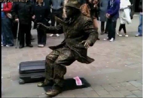 Most Amazing Human Statue Ever