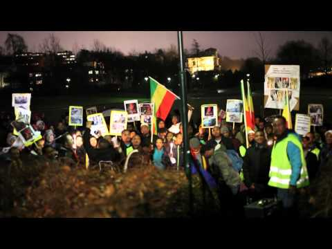 Ethiopians in Norway at the Saudi Arabian embassy