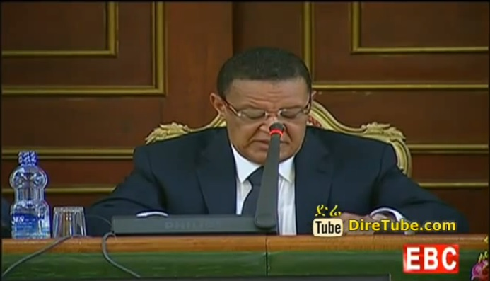 President Mulatu Teshome Speech October 7, 2014