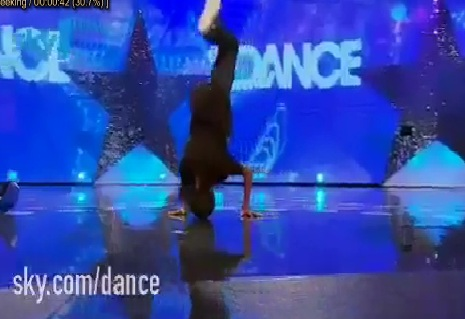 Amazing 10 Year Old Dancer Akai