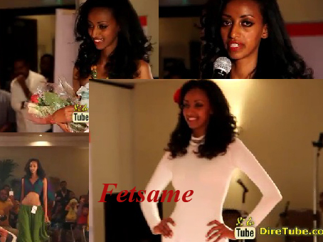 Fetsame :The 3rd Runner Up of Miss Univers Ethiopia 2013