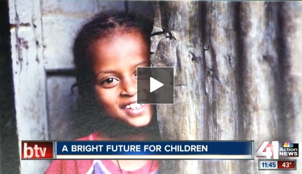 Ethiopian Man begins new charity to help children in Africa