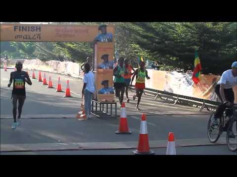Ethiopia hosted the very first Haile Gebrselassie Marathon