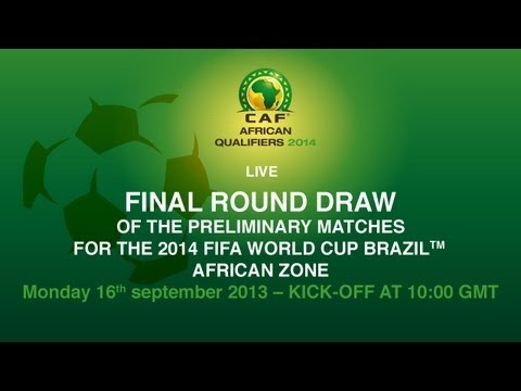 Ethiopia Vs Nigeria - Final Round Draw for the 2014 FIFA WORLD CUP BRAZIL