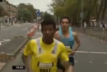 Haile Gebrselassie wins Great Scottish Run in course record